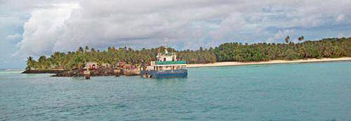 Jetty at Oinafa