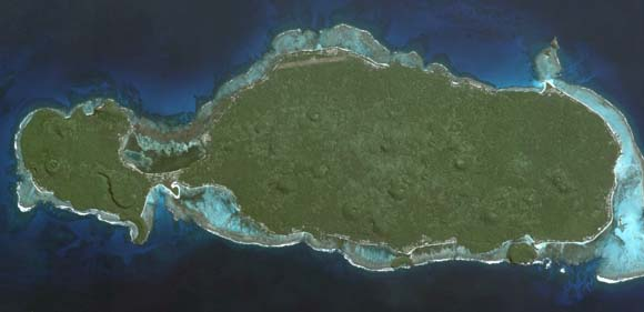 Rotuma from space